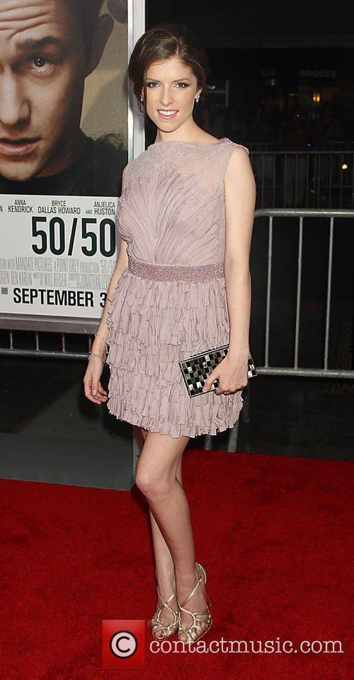 Anna Kendrick 50/50 New York premiere - Arrivals...