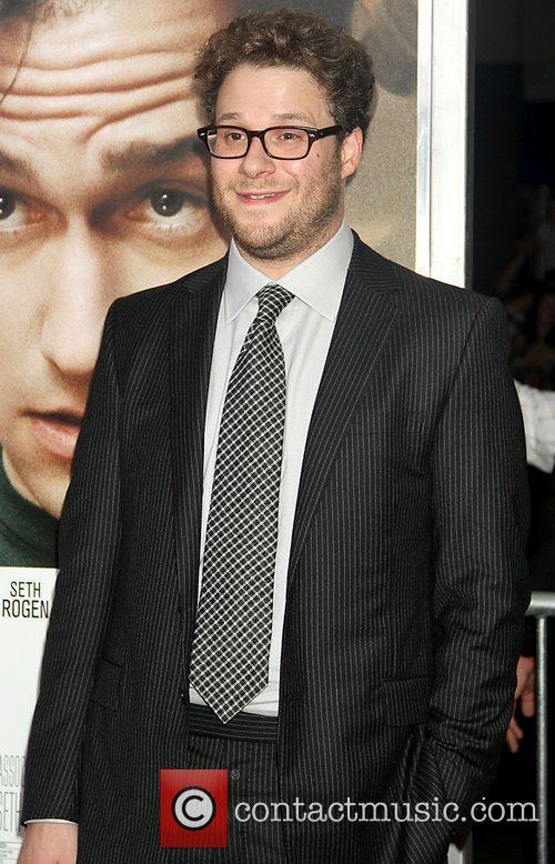 Seth Rogen  50/50 New York premiere -...