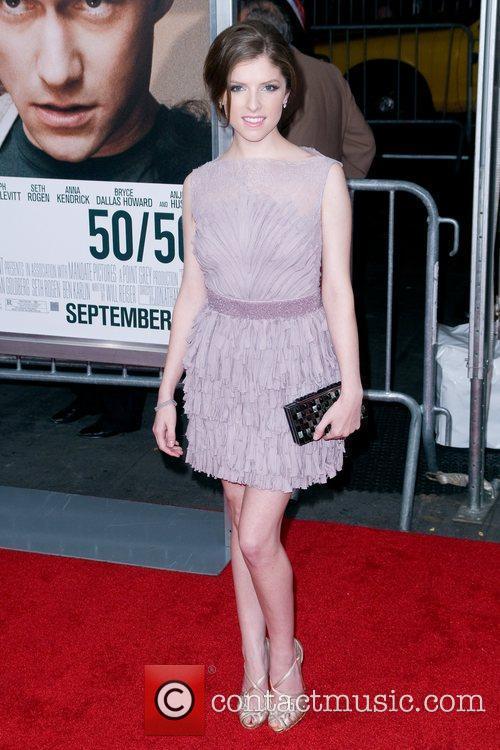 Anna Kendrick , 50/50 Premiere - arrivals, New...