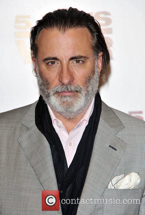Andy Garcia at the '5 Days Of War'...