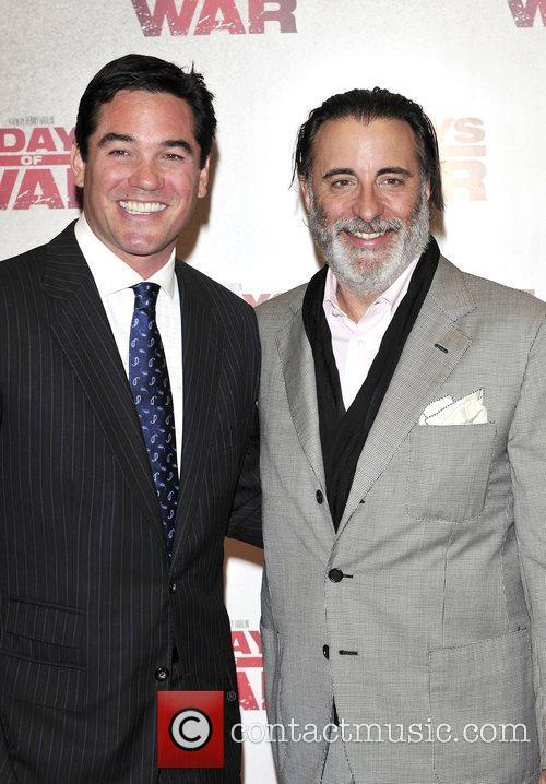 Dean Cain and Andy Garcia at the '5...