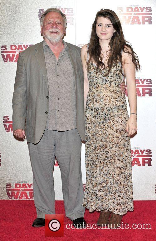 Ken Cranham and daughter at the '5 Days...