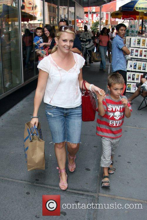 Melissa Joan Hart and her son Mason Wilkerson...