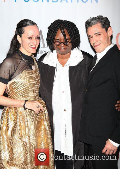 Designer Isabel Toledo, actress Whoopi Goldberg, designer Ruben...