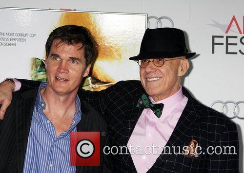 Clark Peterson, James Ellroy  at the AFI...