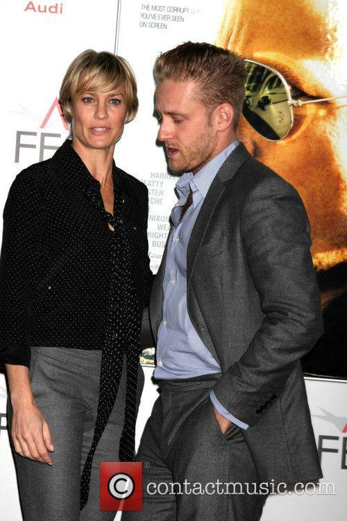 Robin Wright, Ben Foster and Grauman's Chinese Theatre 2