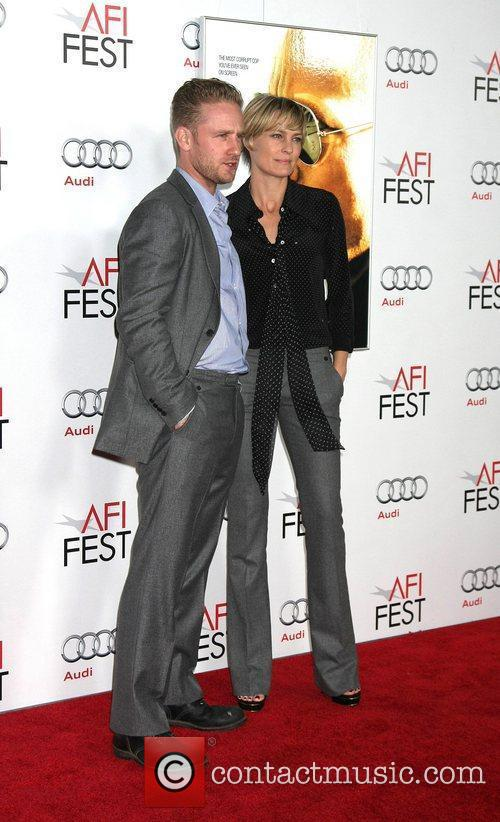 Robin Wright, Ben Foster and Grauman's Chinese Theatre 3