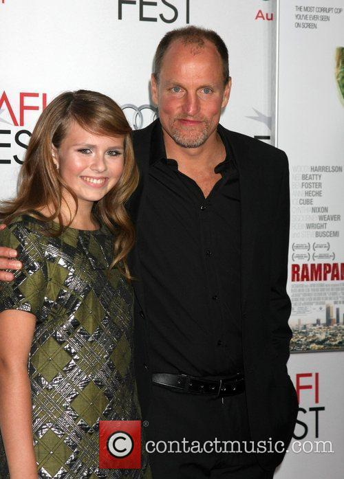 Sammy Boyarsky, Woody Harrelson  at the AFI...
