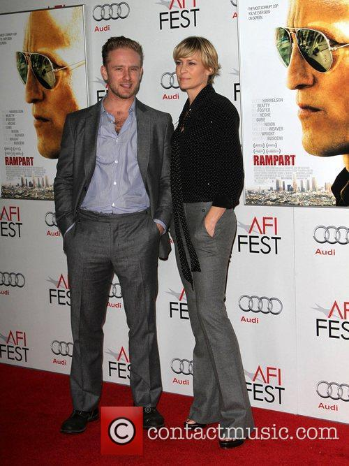 Ben Foster, Robin Wright and Grauman's Chinese Theatre 4