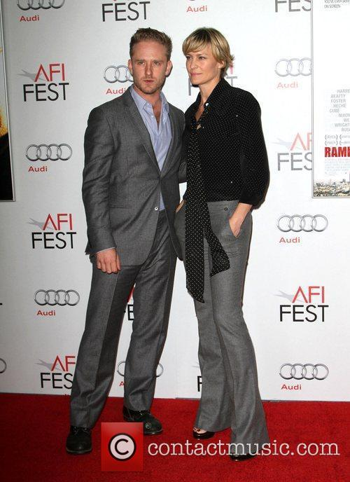 Ben Foster, Robin Wright and Grauman's Chinese Theatre 5