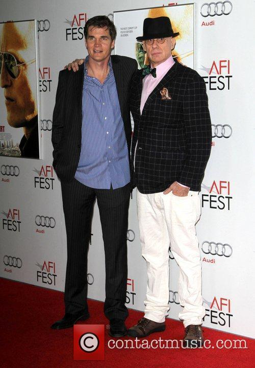 Clark Peterson, James Ellroy at the AFI Fest...