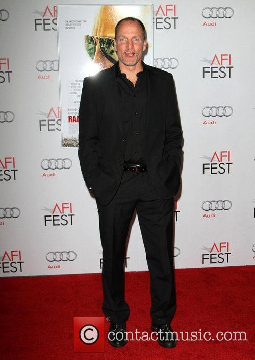 Woody Harrelson at the AFI Fest 2011 screening...