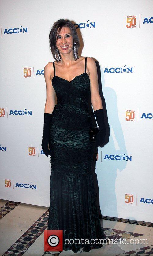 Princess Kristina Kovalenko Accion 50th anniversary party at...