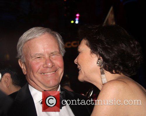 Tom Brokaw and Diana Taylor Accion 50th anniversary...
