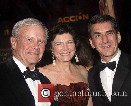 Tom Brokaw, Diana Taylor and guest Accion 50th...