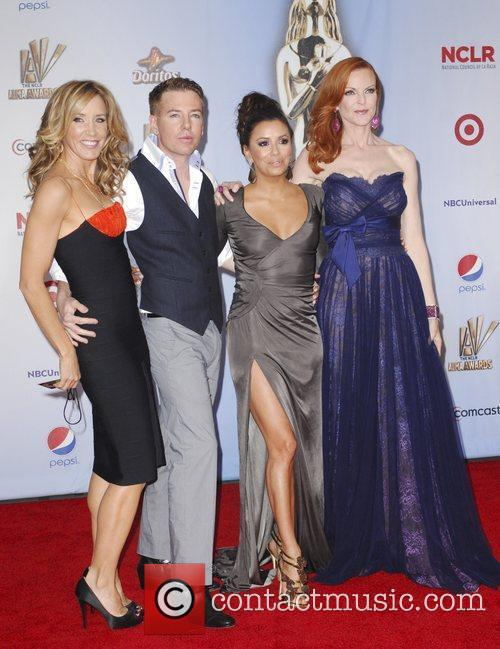 Felicity Huffman, Eva Longoria, Marcia Cross and Alma Awards 3
