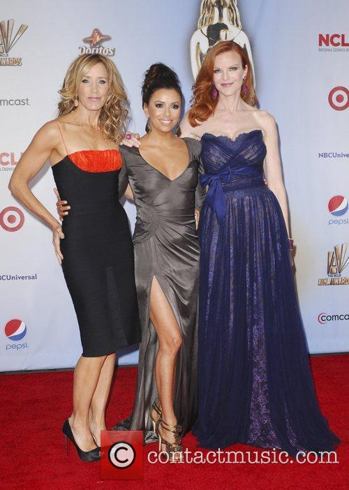 Felicity Huffman, Eva Longoria, Marcia Cross and Alma Awards 4