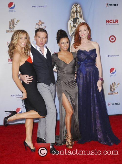 Felicity Huffman, Eva Longoria, Marcia Cross and Alma Awards 2