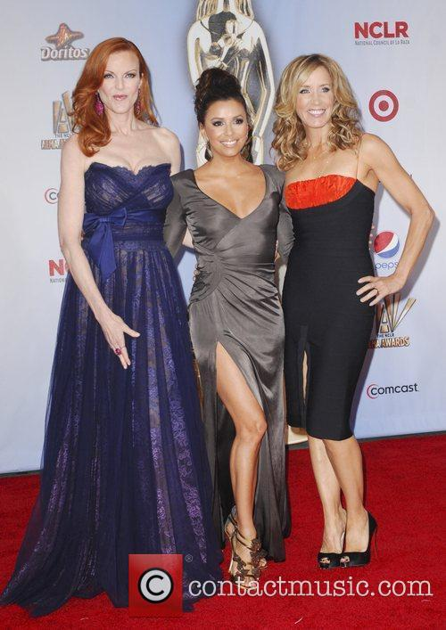 Felicity Huffman, Eva Longoria, Marcia Cross and Alma Awards 5
