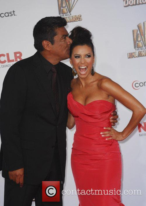George Lopez, Eva Longoria and Alma Awards 3