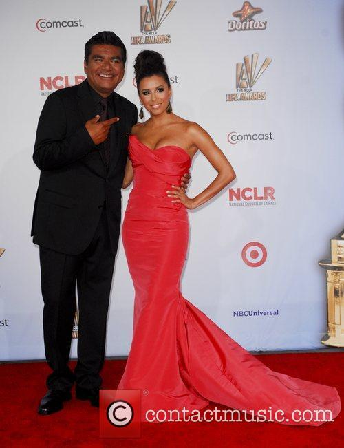 George Lopez, Eva Longoria and Alma Awards 4