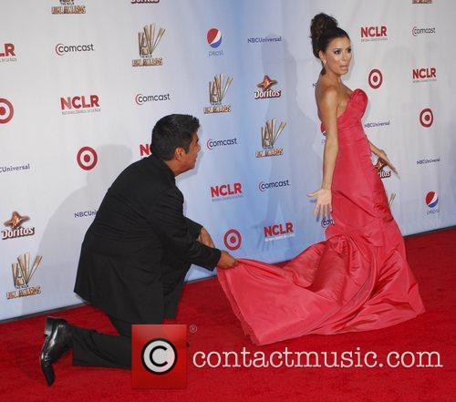 George Lopez, Eva Longoria and Alma Awards 2