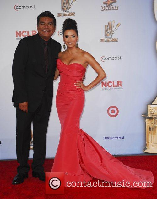 George Lopez, Eva Longoria and Alma Awards 6