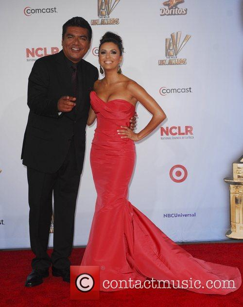 George Lopez, Eva Longoria and Alma Awards 5
