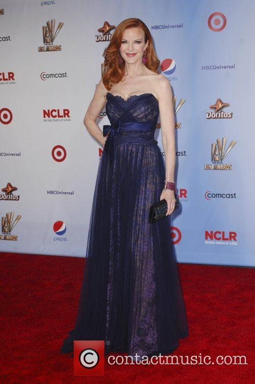 Marcia Cross and Alma Awards 1