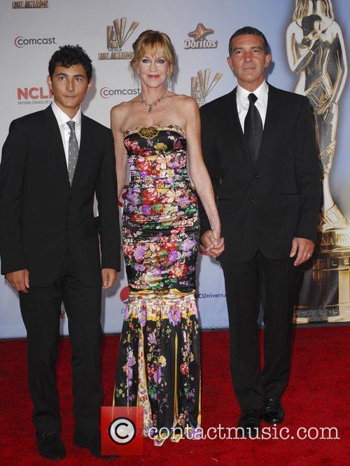 guest, Melanie Griffith, Antonio Banderas  2011 NCLR...