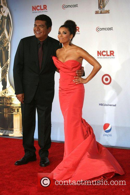 George Lopez, Eva Longoria and Alma Awards 9