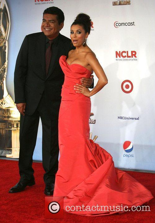 George Lopez, Eva Longoria and Alma Awards 1