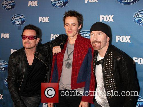 Bono, Reeve Carney, The Edge The 2011 American...