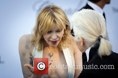 Courtney Love and Karl Lagerfeld 5