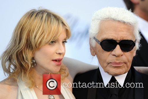 Courtney Love and Karl Lagerfeld 3