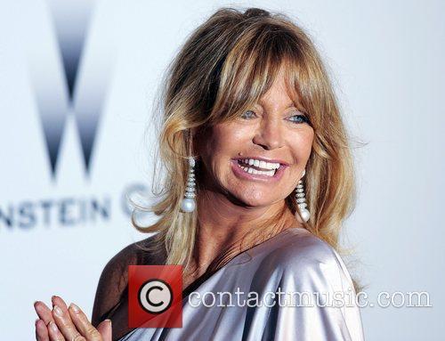 Goldie Hawn and Karl Lagerfeld 1