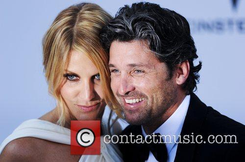 Jillian Dempsey and Patrick Dempsey 2011 Cannes International...