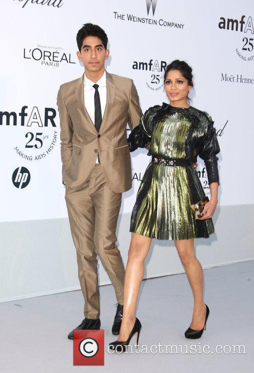 Dev Patel and Freida Pinto 1