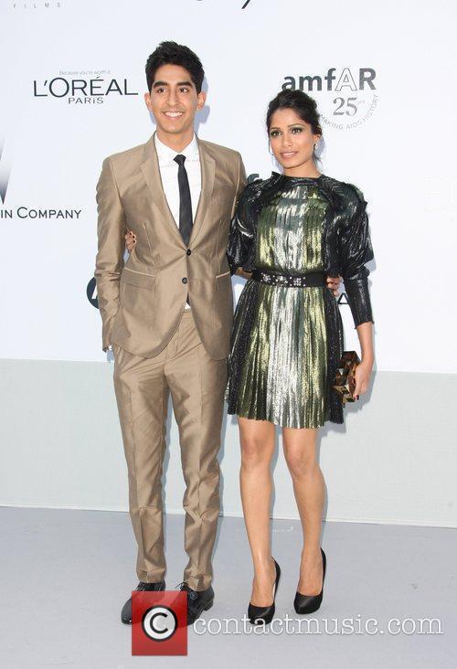 Dev Patel and Freida Pinto 2
