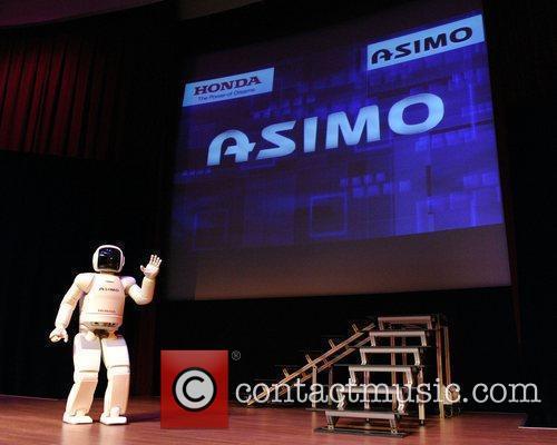 Honda's Asimo Robot 6
