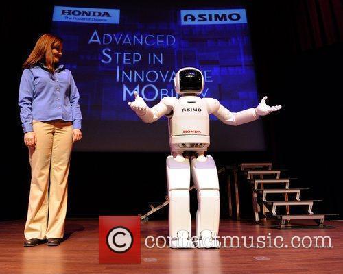 Honda's Asimo Robot 7