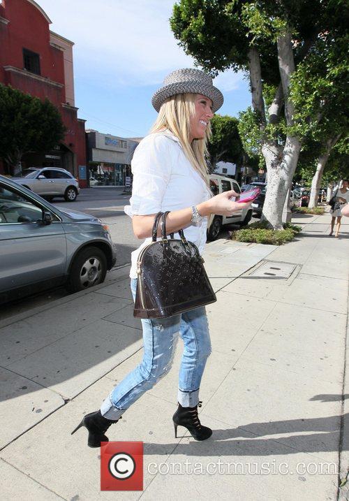 Barbara Blunt goes shopping at Alice & Olivia...