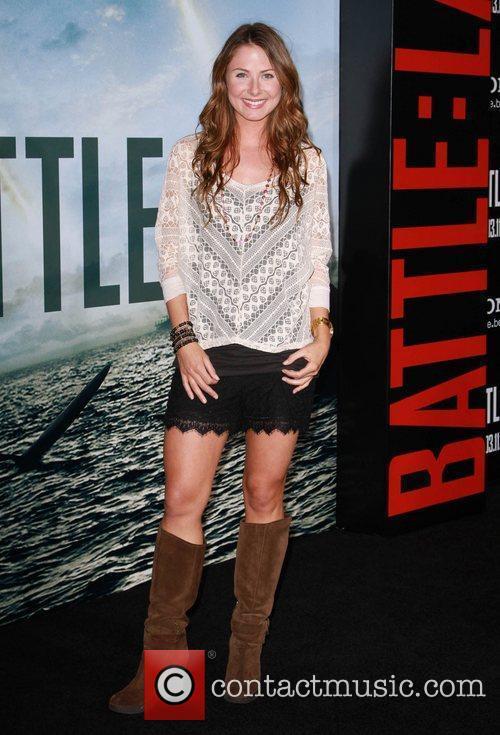 Vanessa Lee Evigan  Battle: Los Angeles Los...
