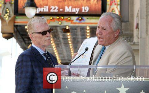 Bill Geist and Councilman Tom Lebonge Bill Geist...