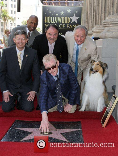Bill Geist is Honored with a star On...