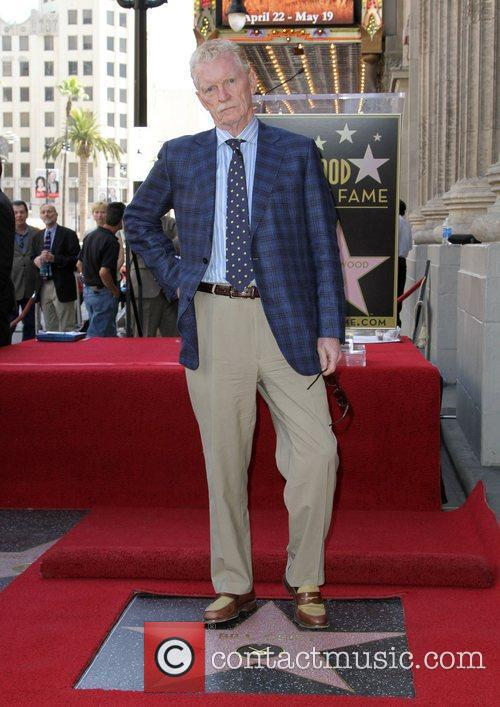 Honored with a star On The Hollywood Walk...