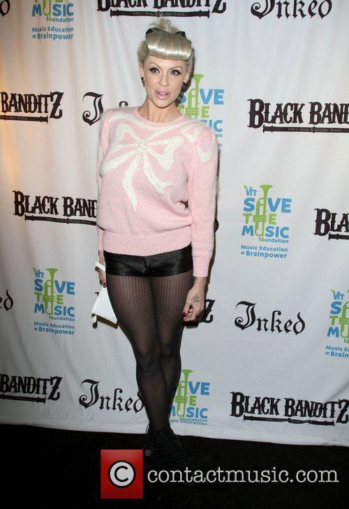 Bridget Blonde Black Banditz Grand Opening & Pre-Coachella...