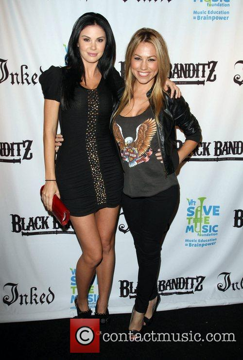 Jayde Nicole and Jessica Hall Black Banditz Grand...