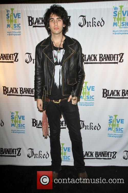 Nick Simmons Black Banditz Grand Opening & Pre-Coachella...