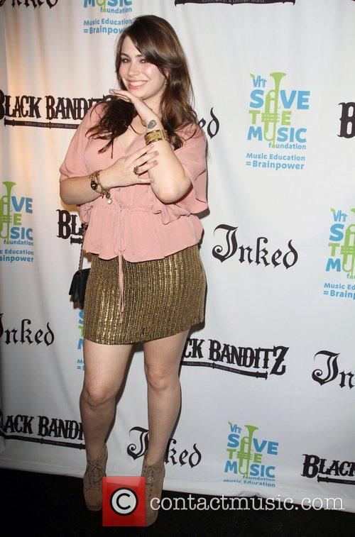 Sophie Simmons Black Banditz Grand Opening & Pre-Coachella...